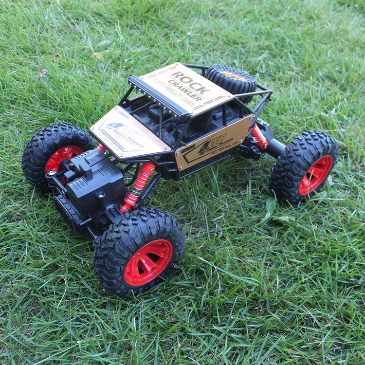 Hotselling Rock caterpillar RC voiture télécommande jouet voiture 1:16 4WD radiocommande 4x4 voiture d'escalade batterie Rechargeable