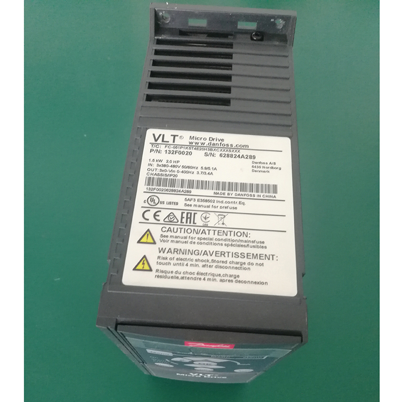 Danfoss AC Drive converter 3 Phase Frequency Converter 50HZ to 60HZ