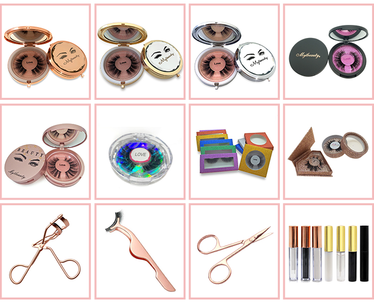 Mytingbeauty Premium Bulk Mink Lashes 3D False Brand Name Mink Eyelashes Private Label 3D Mink Lashes