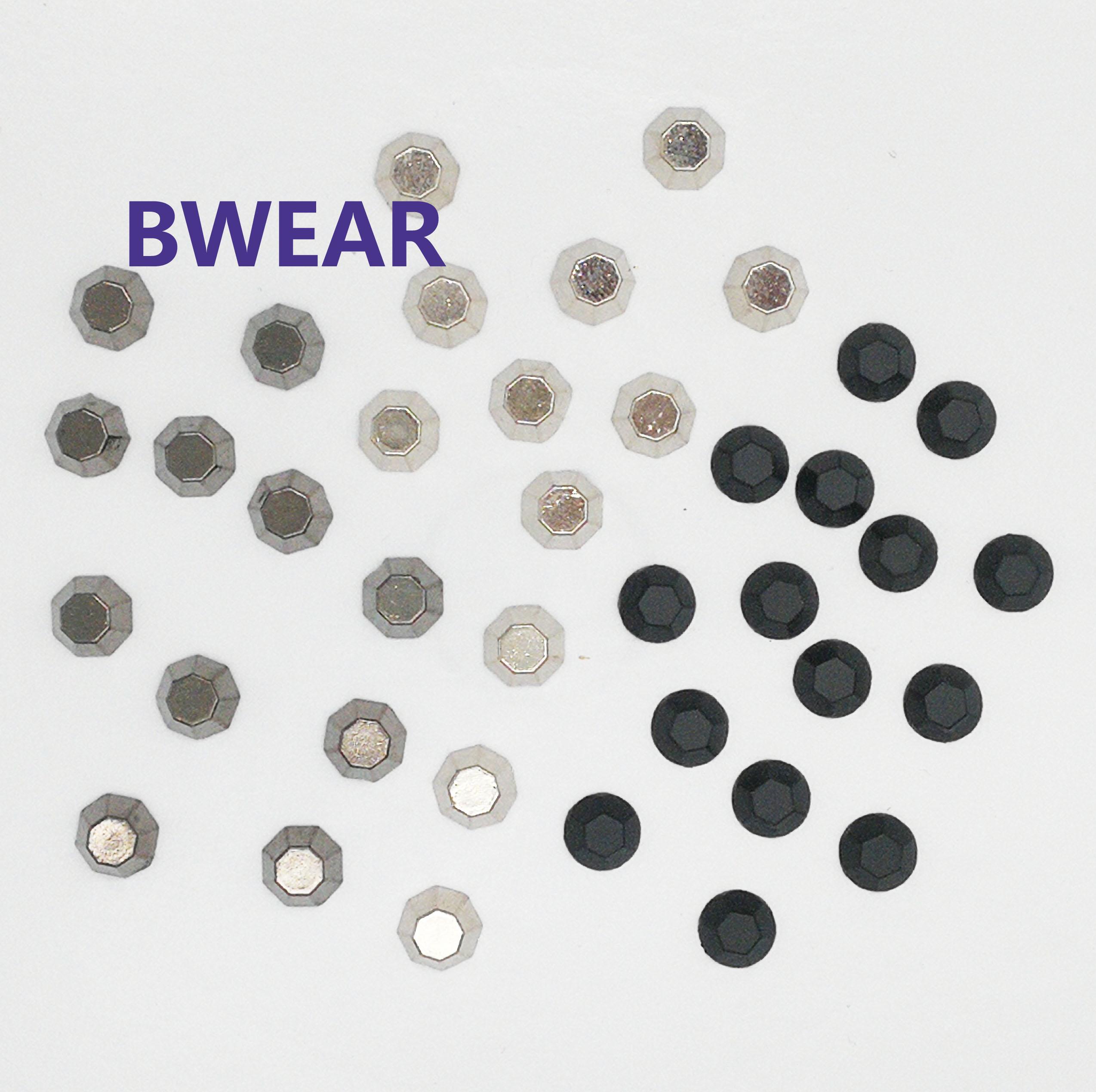 שחור צבע קמור 8mm כיפת בתפזורת קוצים עור מסמרות מתכת הרבעה עבור בגדים