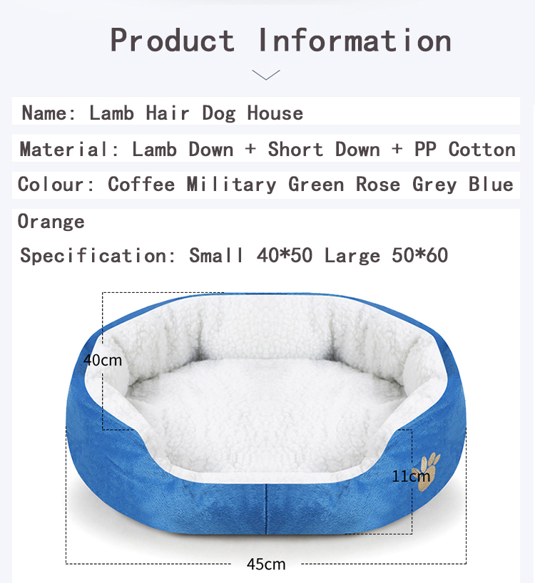 Extra Large Dog Beds Washable with Removable Cover Bottom for Small Medium Large Dogs & Pets
