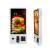 32 inch touch screen kiosk with printer fast food self order pos kiosk
