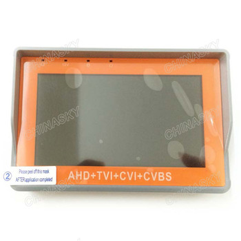 "4.3"" Tft Color Lcd Hd-tvi/ahd/cvi/cvbs All In One Multi Function Cctv Video Tester Monitor Pro For Da hua Hik Cameras"
