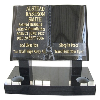 Wholesalers small monuments avbob granite shanxi black tombstone