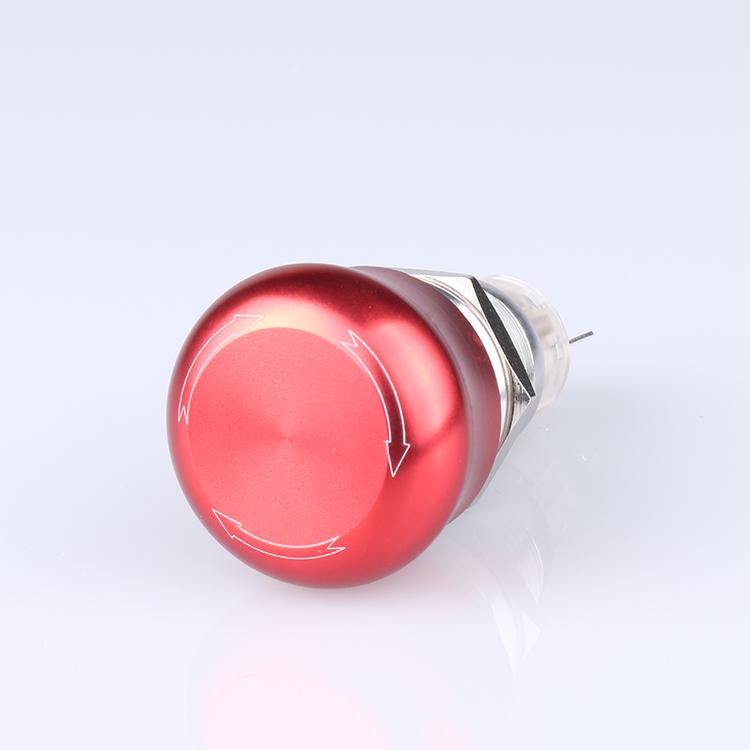 Micro Interruptor Swicth de Botón Pulsador Micro DS438-448 Táctil color Rojo
