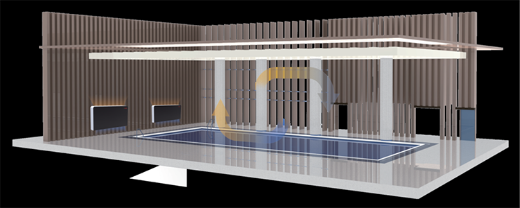 Wall Mounted Dehumidifiers PHNIX Heat Pump Swimming Pool Dehumidifier Price Air Dehumidifier for Aqua Swimming Pool