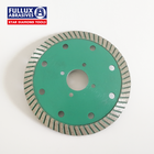 Fullux 4 Inch Hot Pressed Turbo Diamond Saw Blade for Marble Granite Stone Cutting