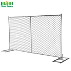 Factory Wholesales Price 7 Foot Building Chain Link Garden Temporary Fence Panel For Outdoor