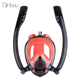 Easy Breath Diving Mask K2 Double Tube Full Face Snorkel Mask in Diving Equipment