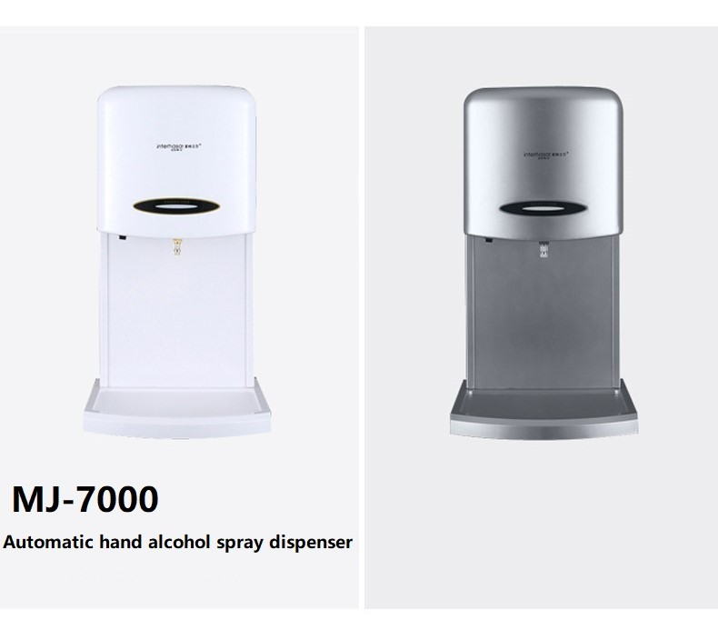 China wholesale toilet wall mounted automatic electronic alcohol spray hand wash sanitizer dispenser