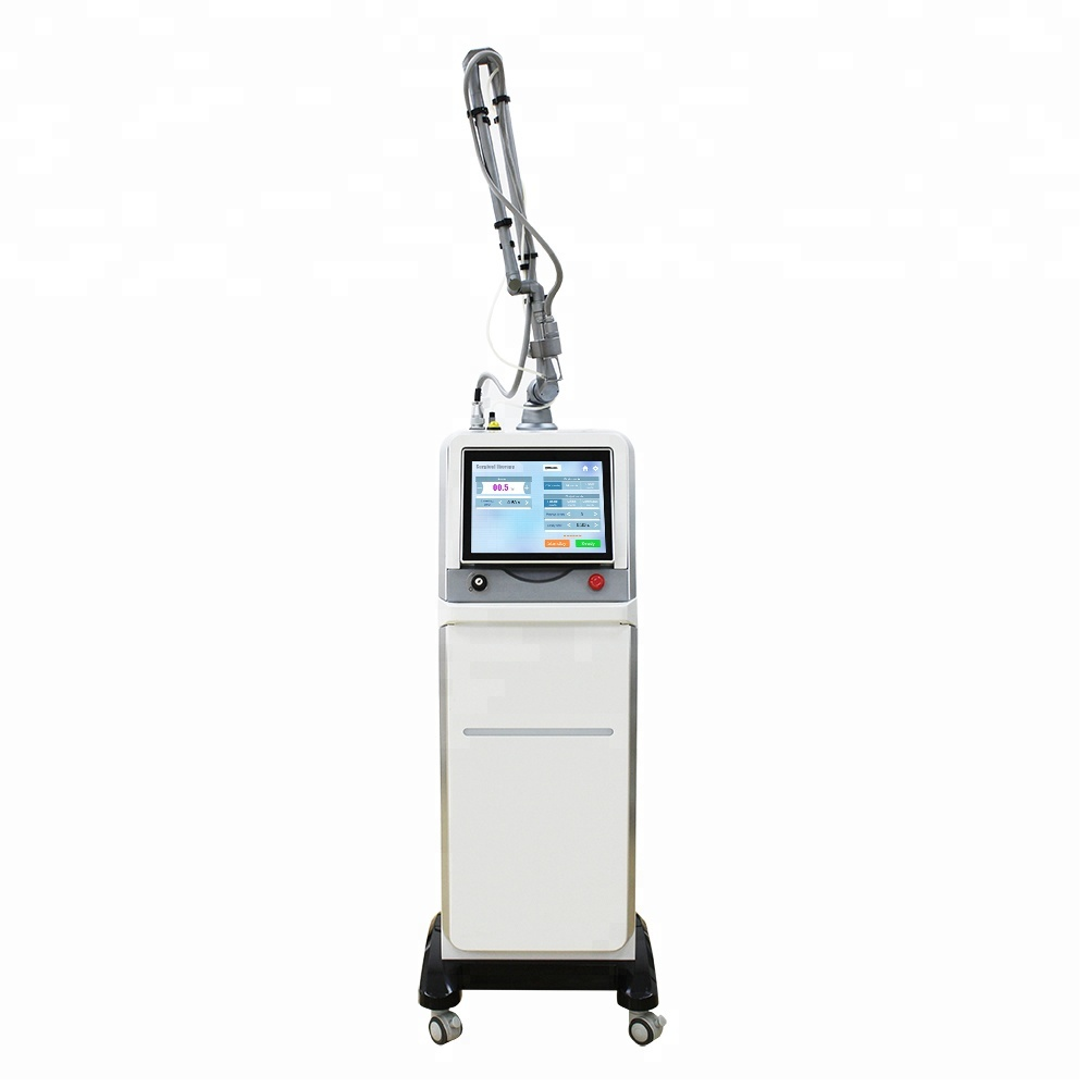 2019 The fully new design co2 fractional laser beauty equipment specialize use in acne scars removal