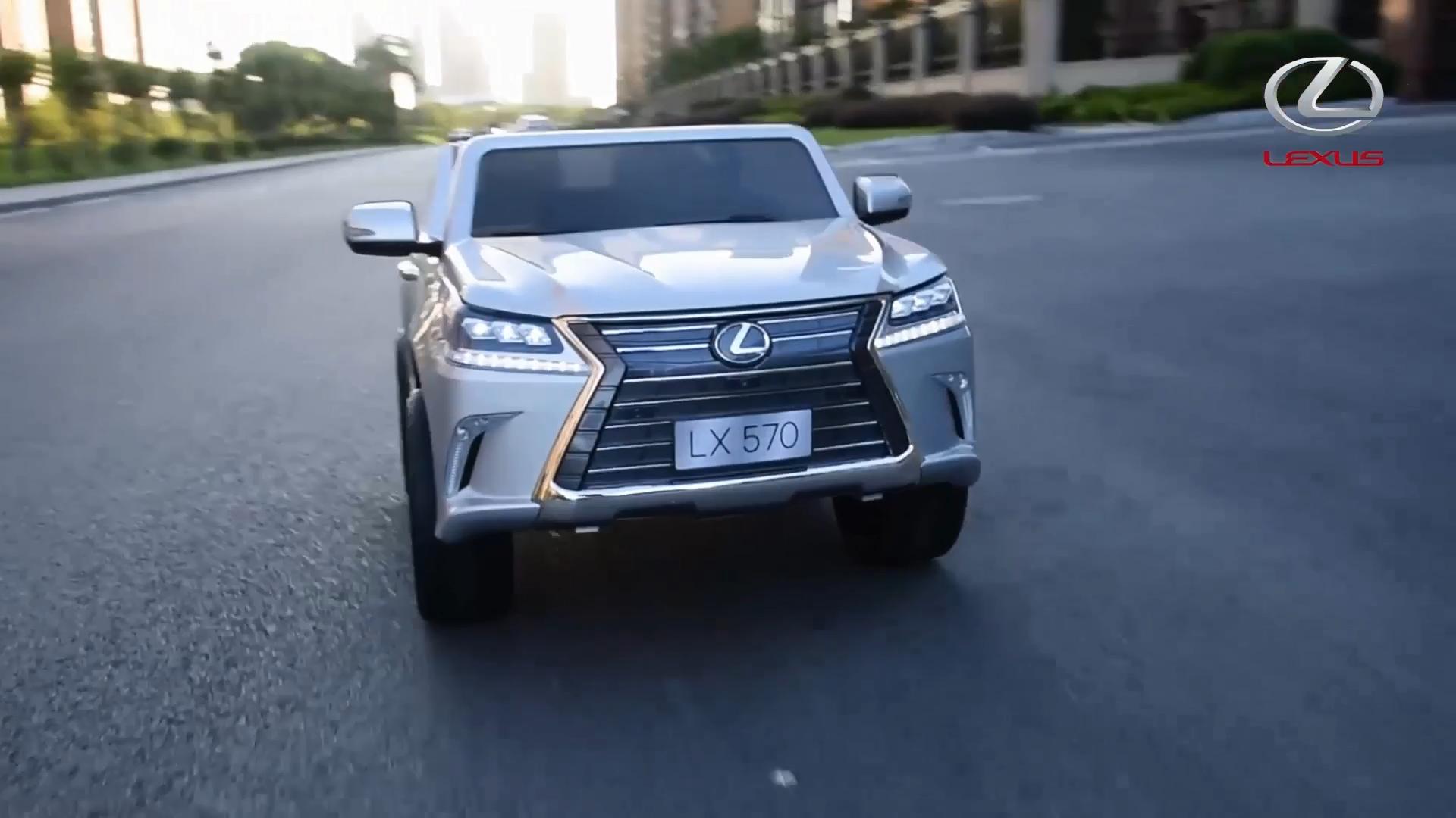 Großhandel China Lieferant Heißer Verkauf 4 Sitzer 2020 lizenzierte Lexus-570 12V Kinder Smart Fahrt Auf Spielzeug 2,4G fernbedienung control Elektrische Auto