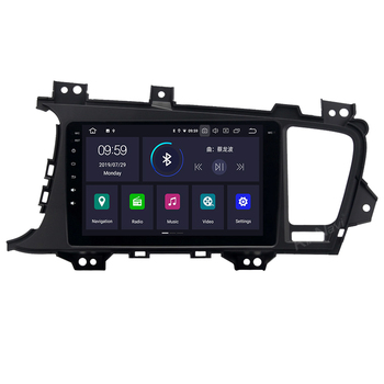 KiriNavi Android 7.1 9'' touch screen car stereo for KIA Optima K5 2011 - 2015 car audio cd player 5G WIFI DAB+DSP Amplifier