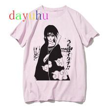 Короткая футболка с героями из японского аниме «Наруто футболка акатсуки для мужчин, принт с героями мультфильмов Kawaii, как у героя мультфил...(Китай)