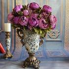 Hot sale factory direct rose silk flower peony artificial flowers for crafts quick delivery