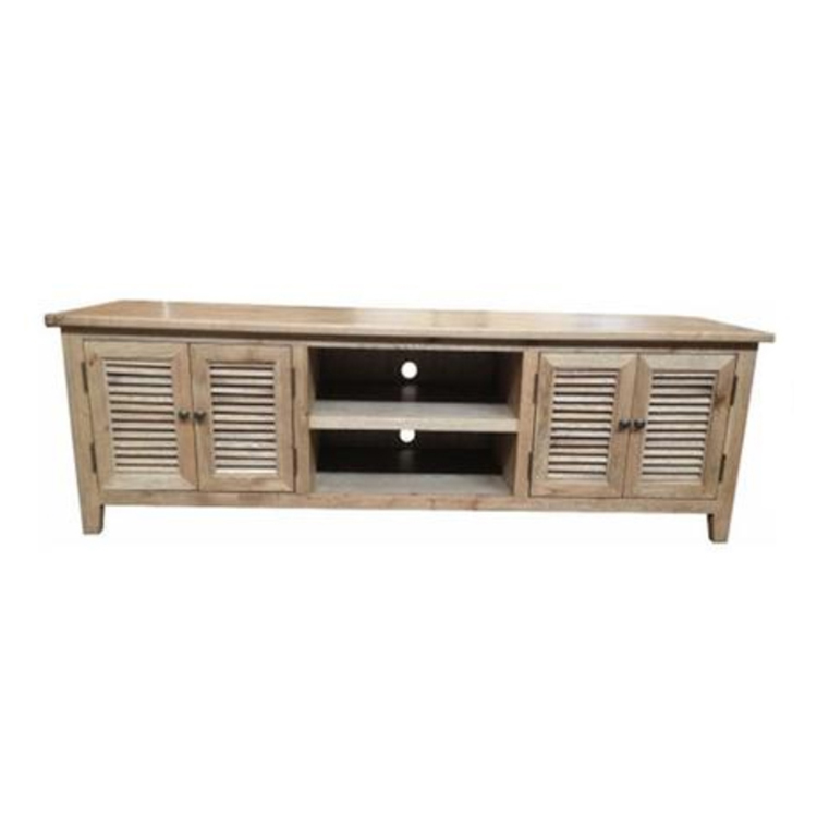 Wholesale Antique Home Entertainment Unit, Solid Cabinet Home Wood TV Stand Wooden