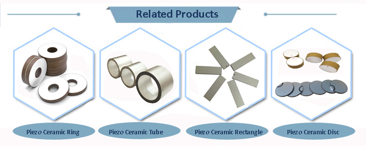 Factory Direct Sale Reliable Different Material Size Piezo Element Piezoelectric Ceramic Ring