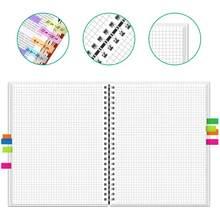 Блокнот NEWYES Graphic, блокнот для рисования, спиральный, A4, многоразовый, стираемый, для школы, офиса, Подарочные принадлежности(Китай)