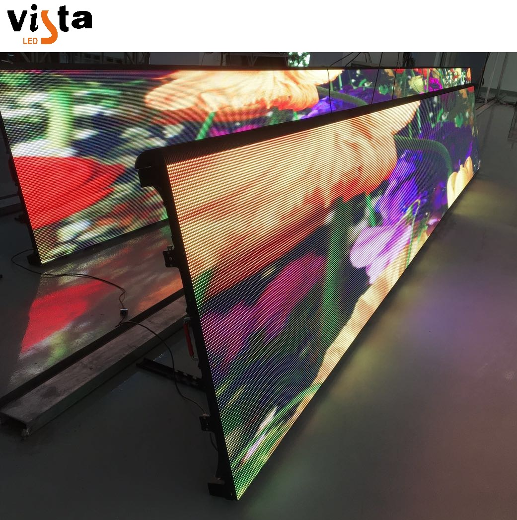 Mode vorm P8mm indoor led display speciale led billboard