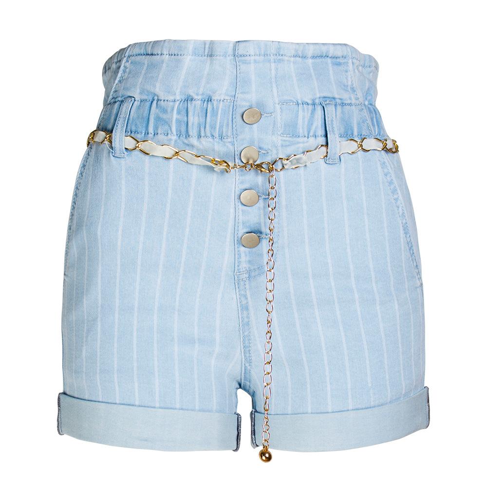 2019 femmes courtes denim jeans pantalons pour femmes