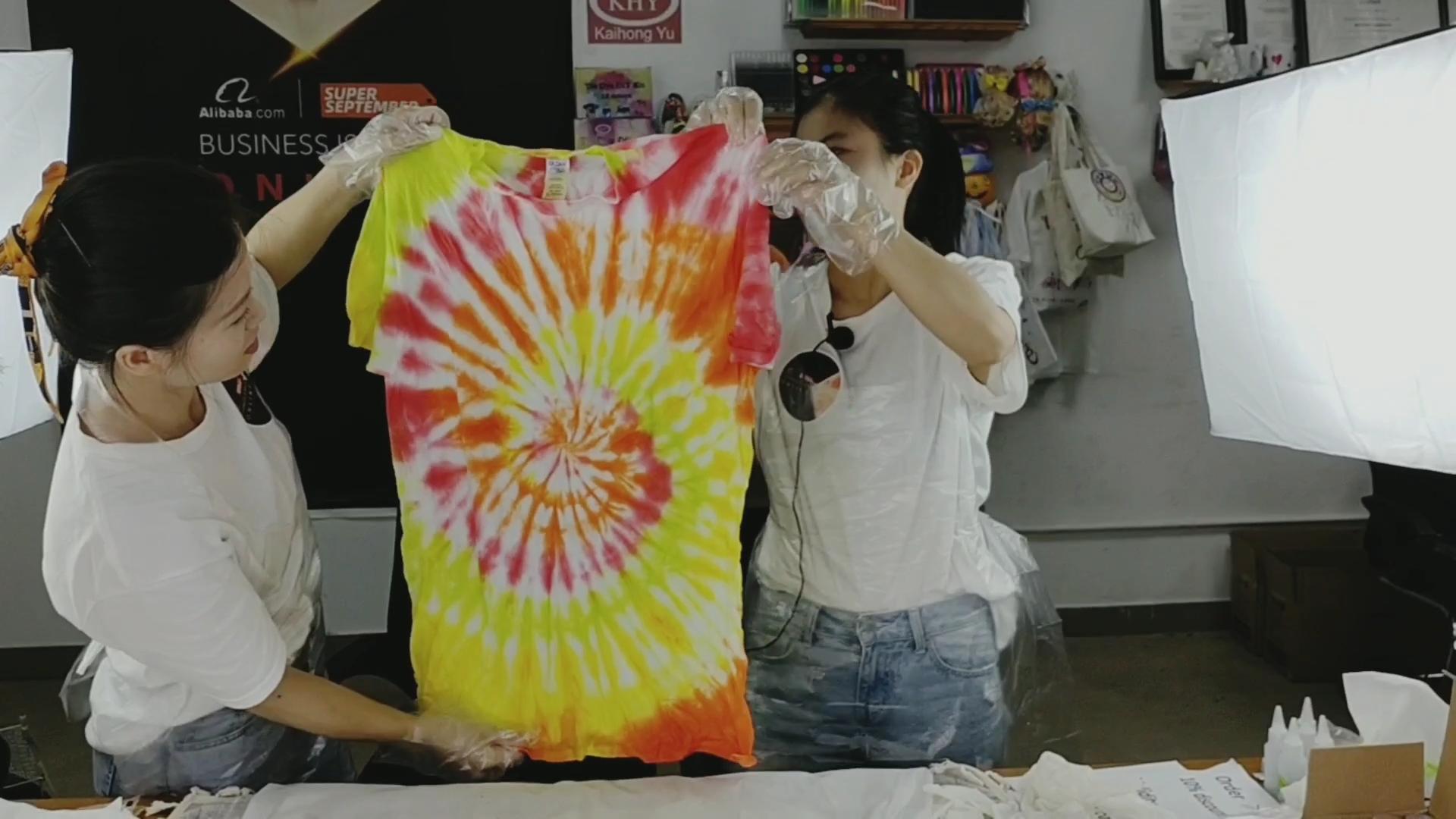 Hot Bán 12 Màu Sắc Mực Vải Tự Làm Tie Dye Kit Cho Nhuộm Áo Len, Áo, Áo Khoác, Áo Khoác