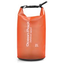 Водонепроницаемый складной сухой мешок из пвх для плавания, рафтинга, каякинга, гребли, рыбалки, сумка для хранения 2L/5L/10L/15L/20L(Китай)