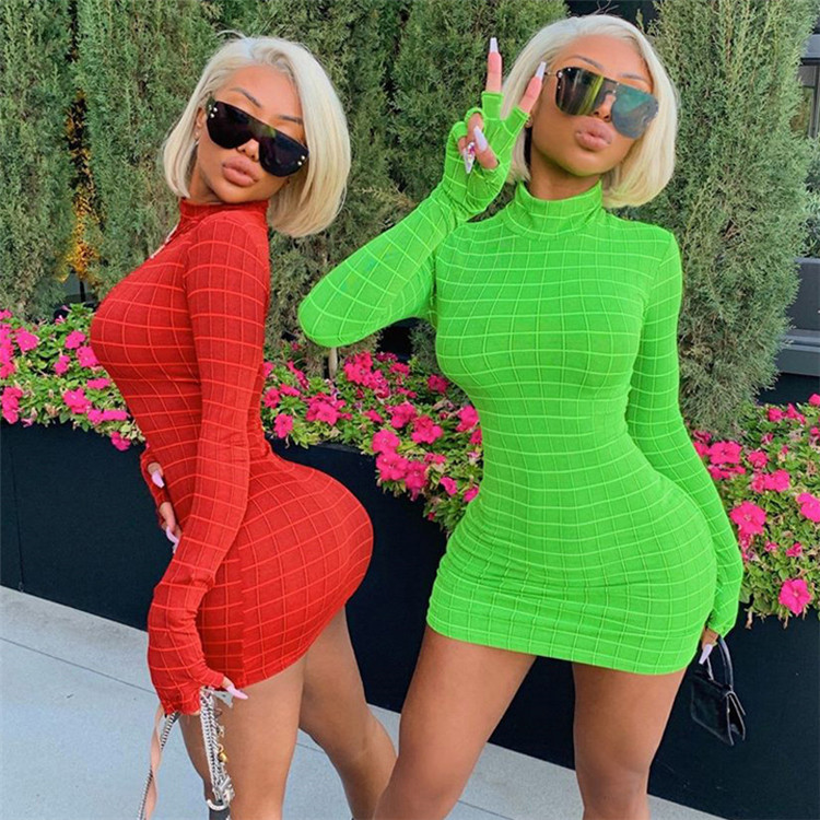 2019 fashion design clothes women dress women casual long sleeve ladies dress