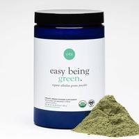 Easy Being Green Alkaline Greens Powder with a Hint of Organic Citrus (30 Serving), Dietary Fiber