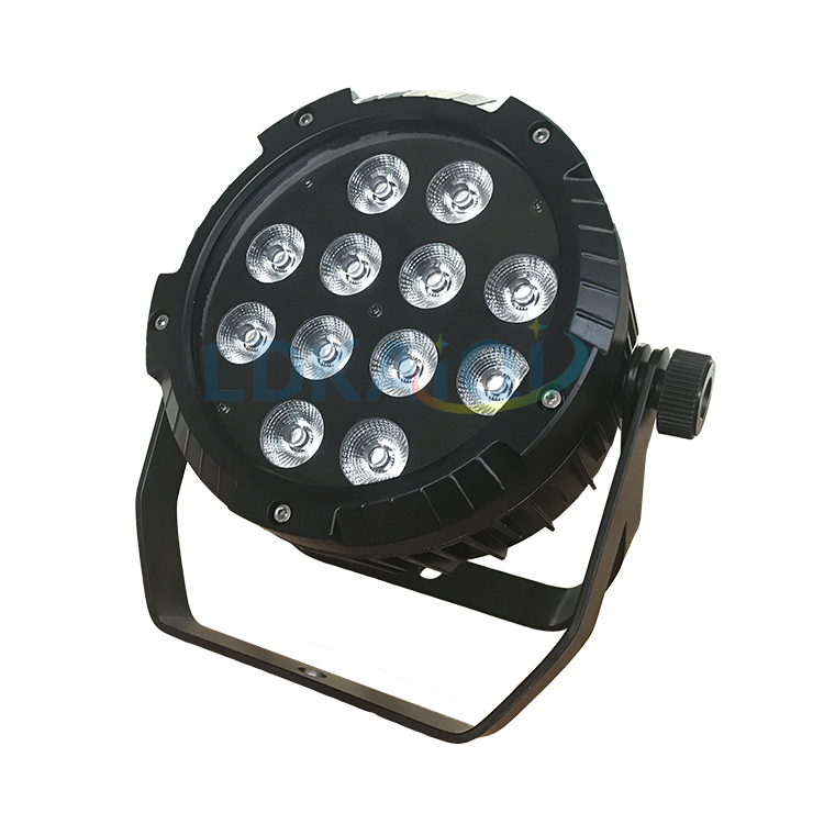 Podium effect par licht IP65 waterdichte rgbwa 5in1 18pcs led par kan licht