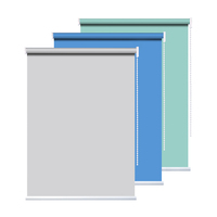 OEM free samples polyester cotton roll up scenery roller blinds for kitchen window