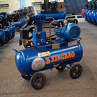 Z-0.036 0.55kw 0.75hp 8bar portable 24L belt drive piston air compressor