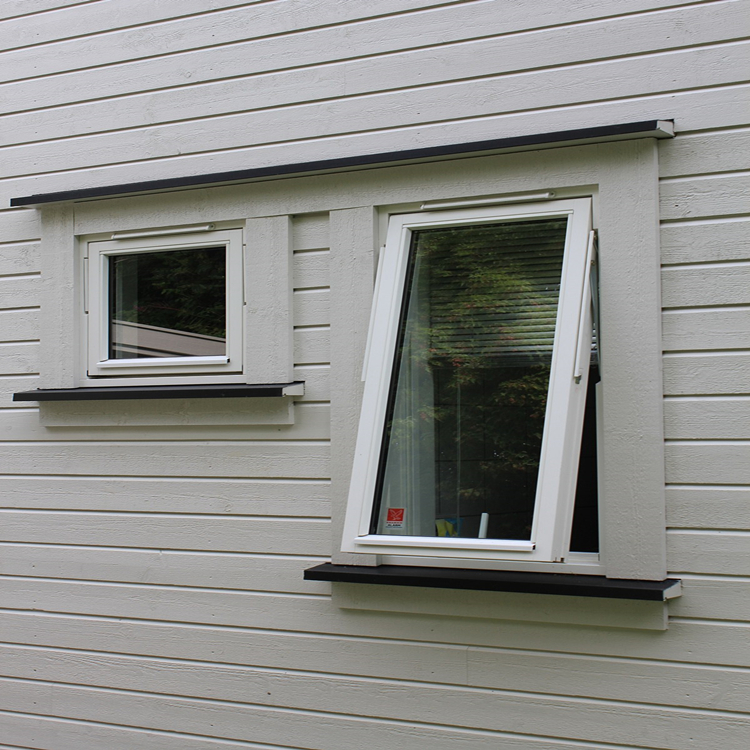 Color frame power coated Nice quality with winder double galzing AS2047 Aluminum Awning window