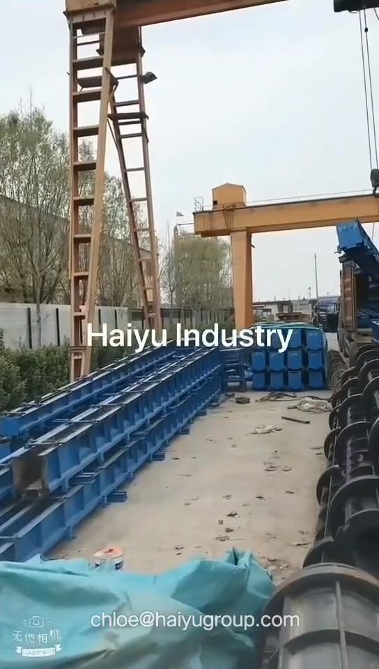 Камерунское непредварительно напряженное полюсное оборудование/poteau en beton arme
