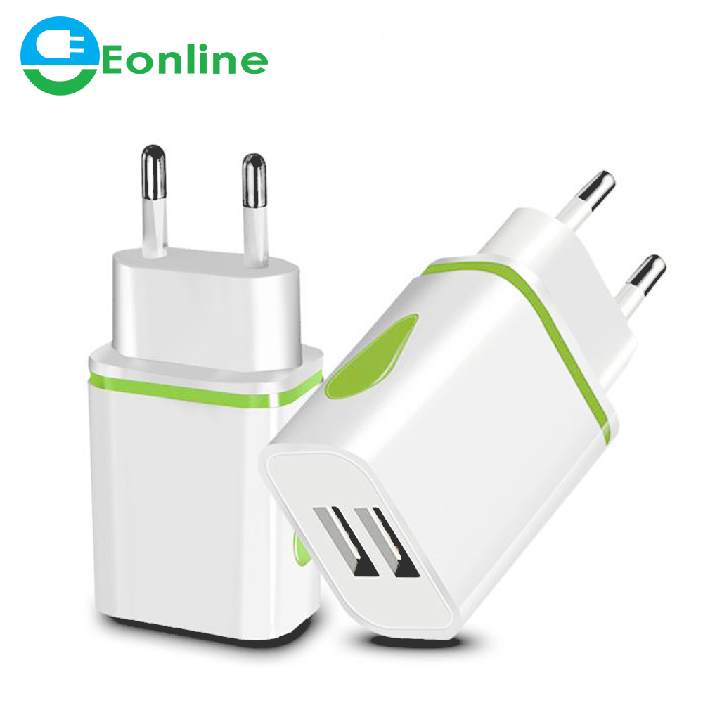 5V 2.1A USB Travel Wall Charger Adapter 10W Portable Smart Mobile Phone for iPhone XS Max iPad Samsung