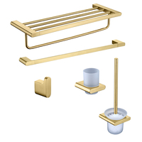 Stainless steel bathroom accessory set JG-SSG-KBN25A