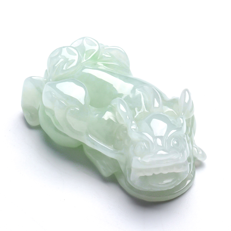 Wholesale Jewelry <strong>Natural</strong> Green Jade <strong>Emerald</strong> PiXiu <strong>Pendant</strong>