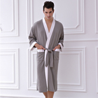 2019 hotel style dressing gown and bathrobe for men