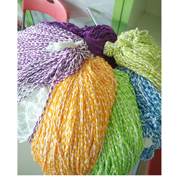 Factory supplying hot selling 300D 576F microfiber spun yarn cotton for 360 mop heads