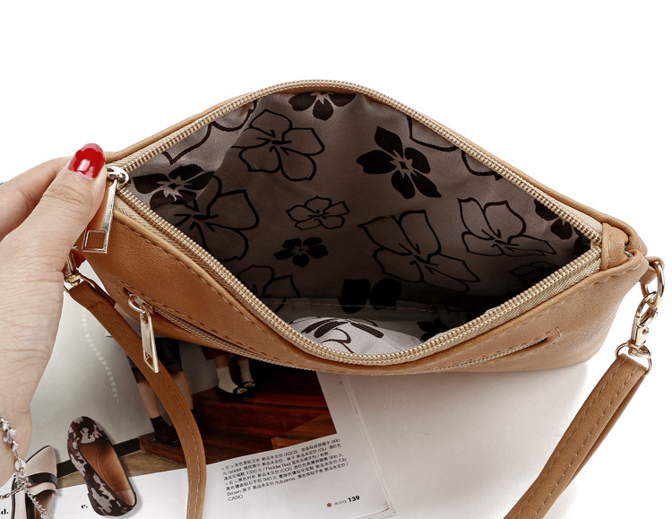 Recycle Mini Bolso Small Tote Pu Leather Hollow Chain Bag Letter Handbag Women New