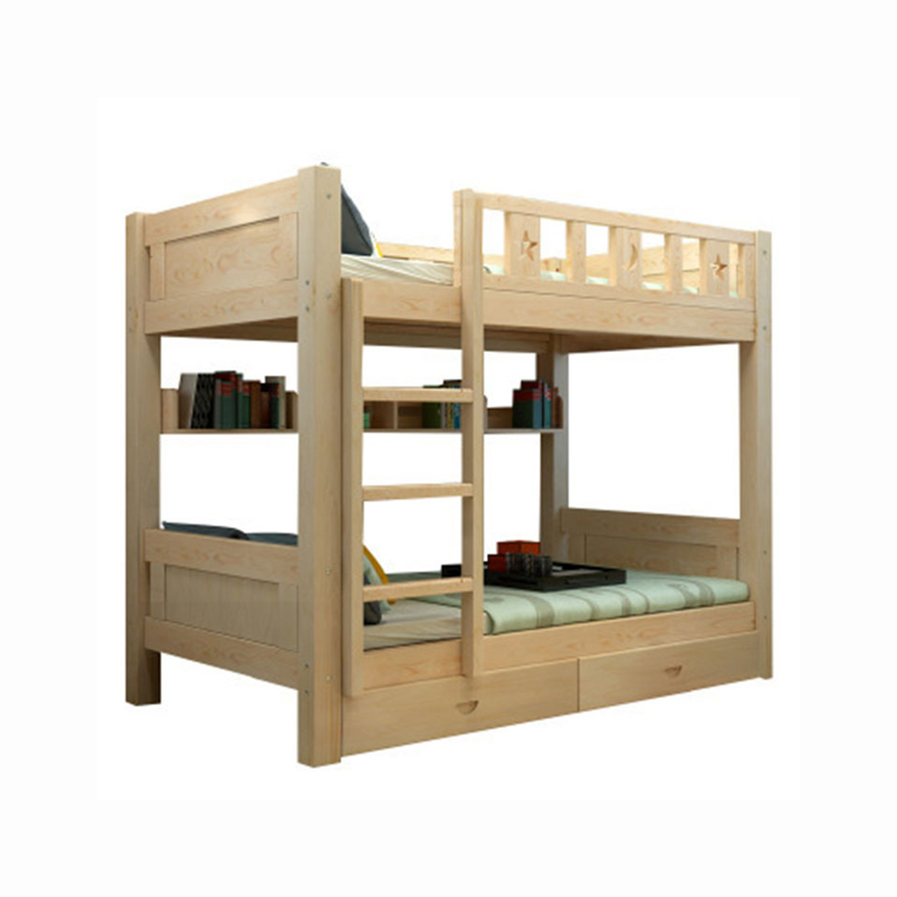 Bunk Bed Modern Wooden Furniture Bedroom Wood Beds Storage Buy Bedroom Furniture Bedroom Sets Double Bed Wood Beds Camas Modernas Chambre A Coucher Cheap Bunk Bed For Kids Modern Bedroom Furniture Modern Italian Hotel Kids