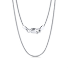 RINNTIN SC09 hot selling men jewelry hip hop chain 925 sterling silver snake chain