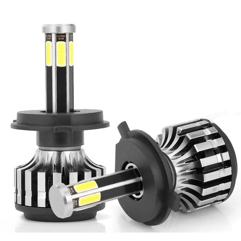 car 6 side H1 H3 H4 H7 HB3 HB4 3000K 24V led front headlight 8000K 6000K car bulb that change  color