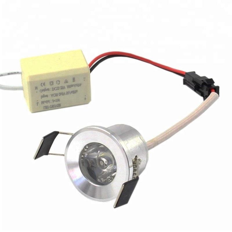 Indoor decoration spotlight 28mm cut out mini 1W 24v dc led spot light