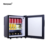 Honeyson hot 40L glass door soft drink hotel room mini fridge refrigerator