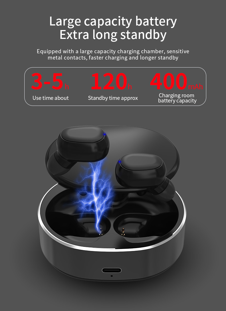 2020 New Model Bluetooth 5.0 Promotional Earphone Wireless Earbuds Earphone