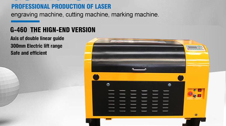 China copo de cristal da foto máquina de gravação a laser 4030 para pequena loja de presentes gravador do laser máquina de corte a laser e gravura