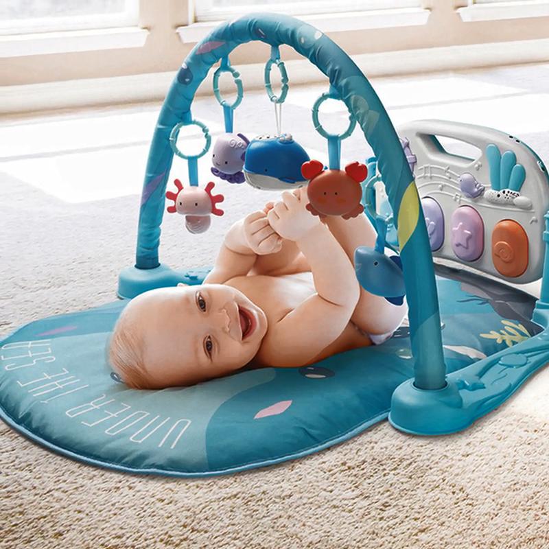 Baby Palymat Rammelaar Muziek Speelgoed Fitness Rack Baby Speelmatten