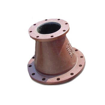ISO2531 EN545 PN16 Ductile Iron Double Flanged Concentric Reducer with asphaltic coating