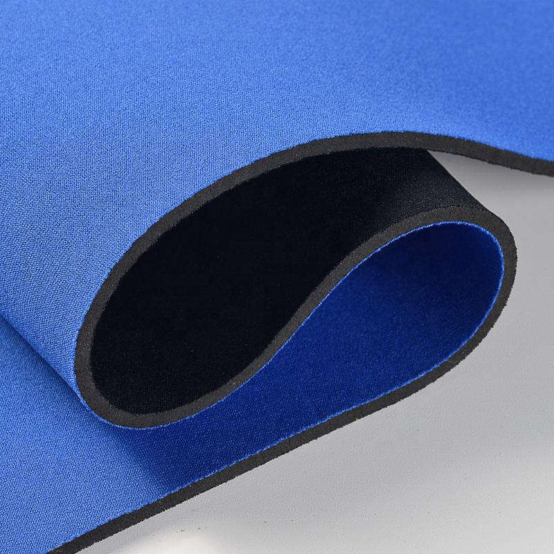 2.5mm recycling neoprene rubber fabric roll neoprene