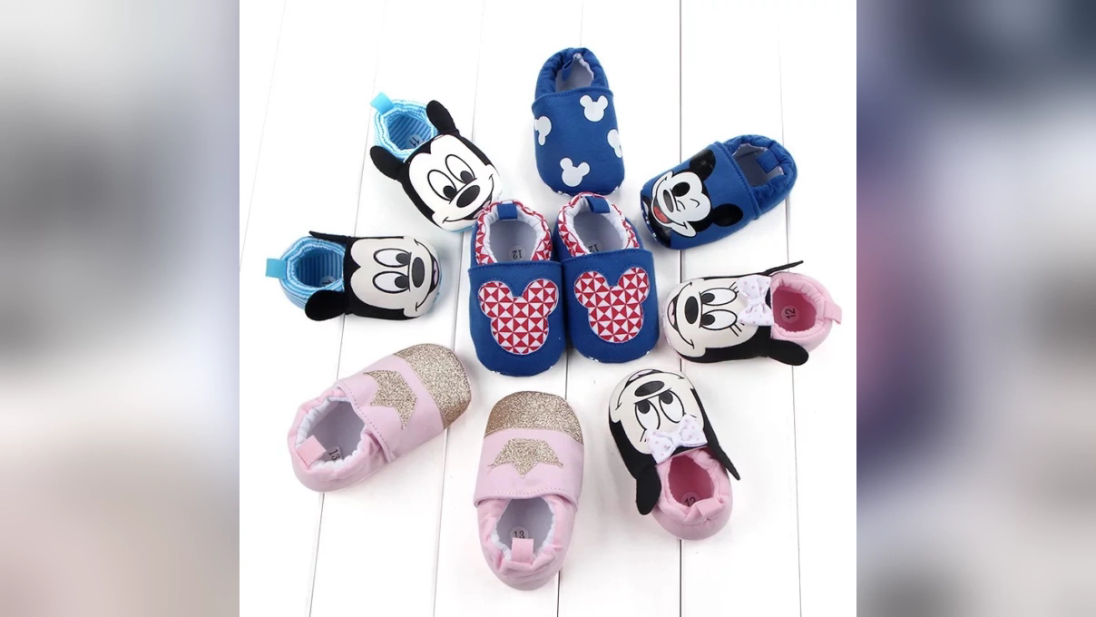 Cotton Wholesale Baby Shoes Cute Lovely Soft Baby Shoes Mix Size 12 Pairs Unisex Popular Baby Shoes